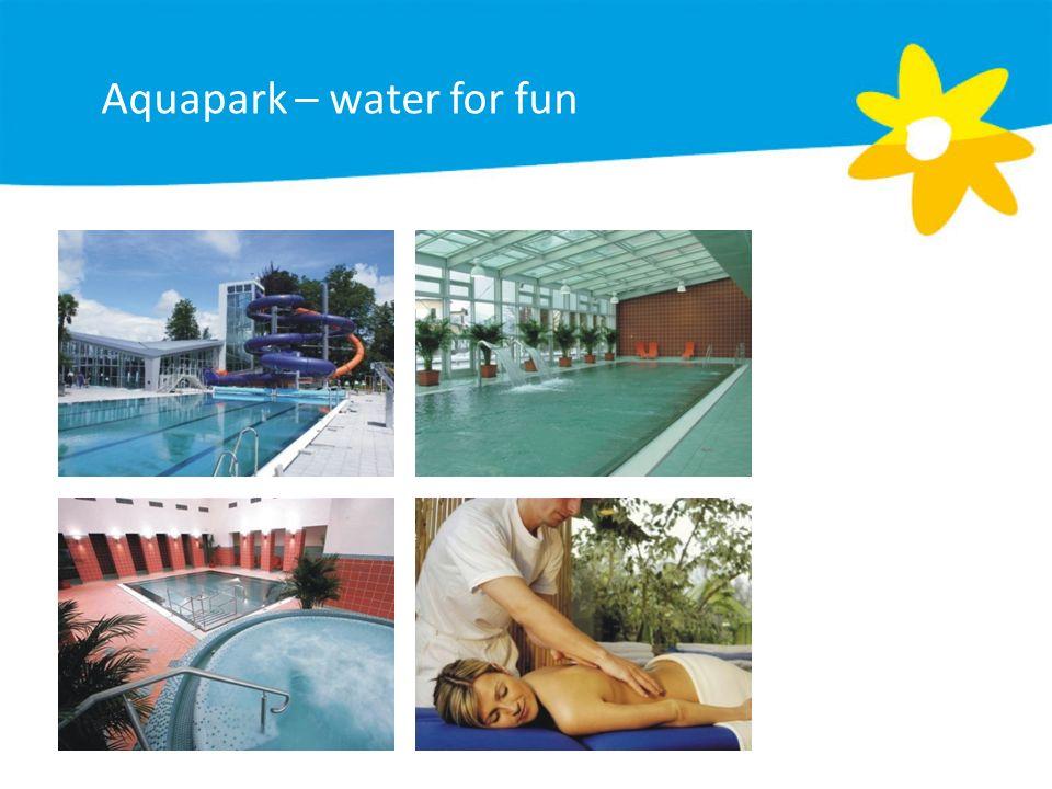 Aquapark – water for fun