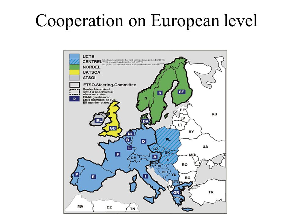 Cooperation on European level