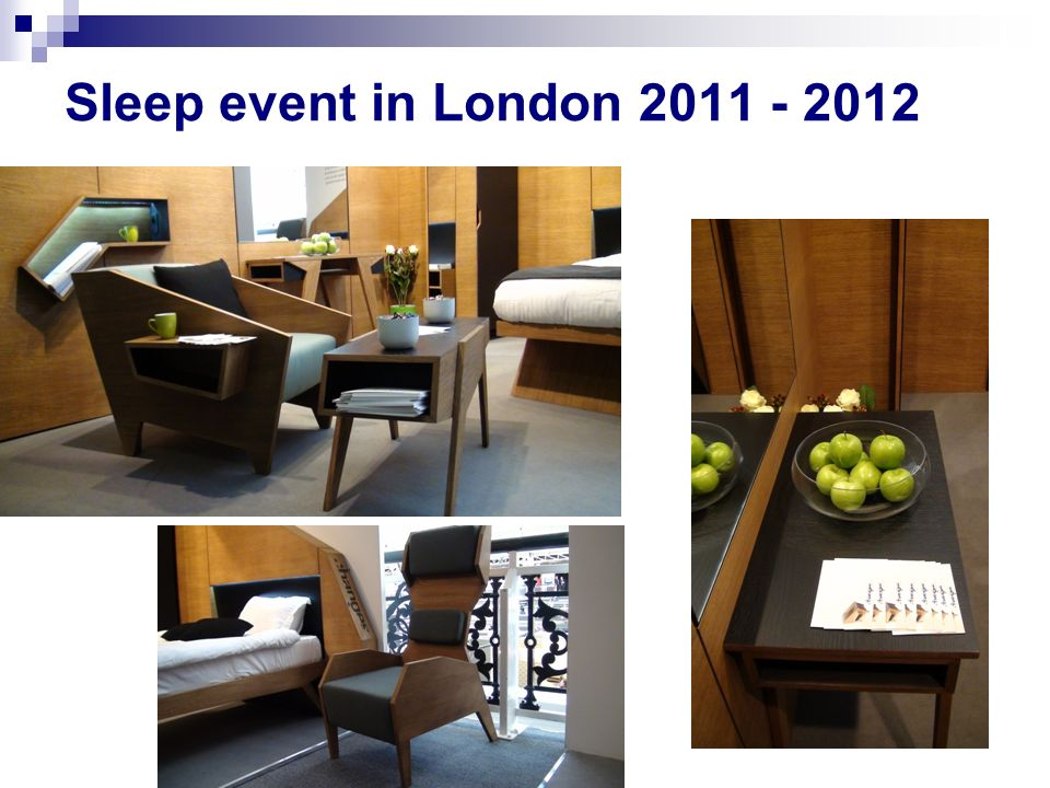 Sleep event in London 2011 - 2012