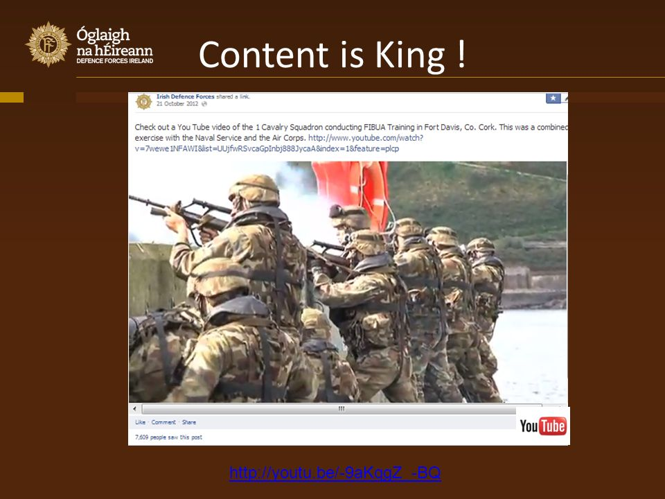Content is King ! http://youtu.be/-9aKqgZ_-BQ