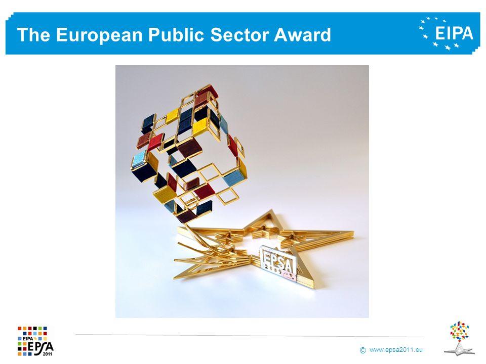 www.epsa2011.eu © The European Public Sector Award