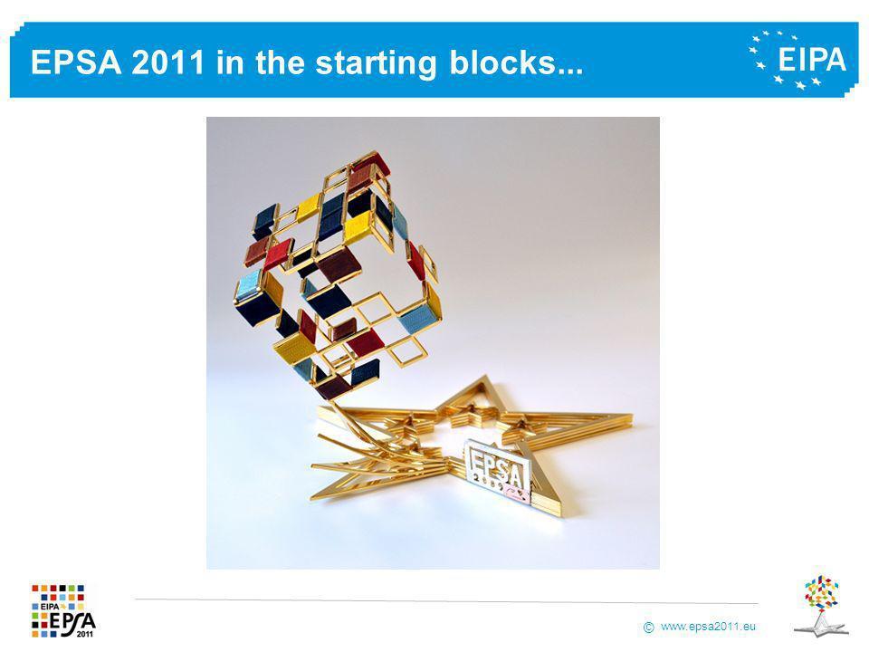 www.epsa2011.eu © EPSA 2011 in the starting blocks...