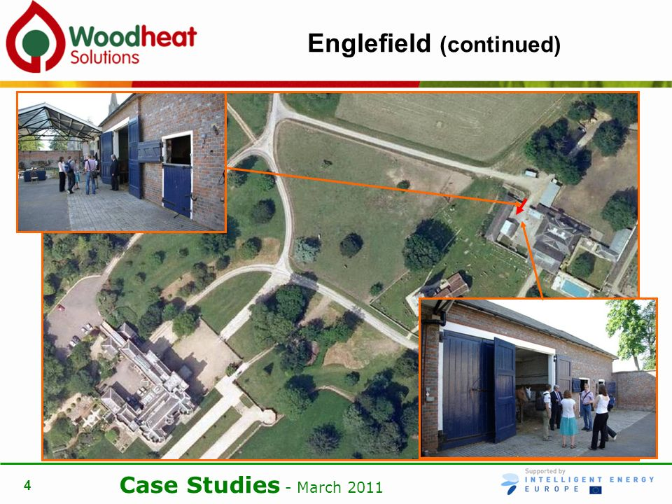 Case Studies - March Englefield (continued)