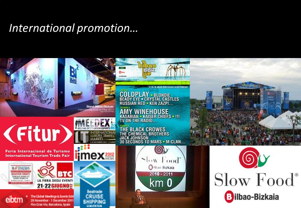 International promotion…