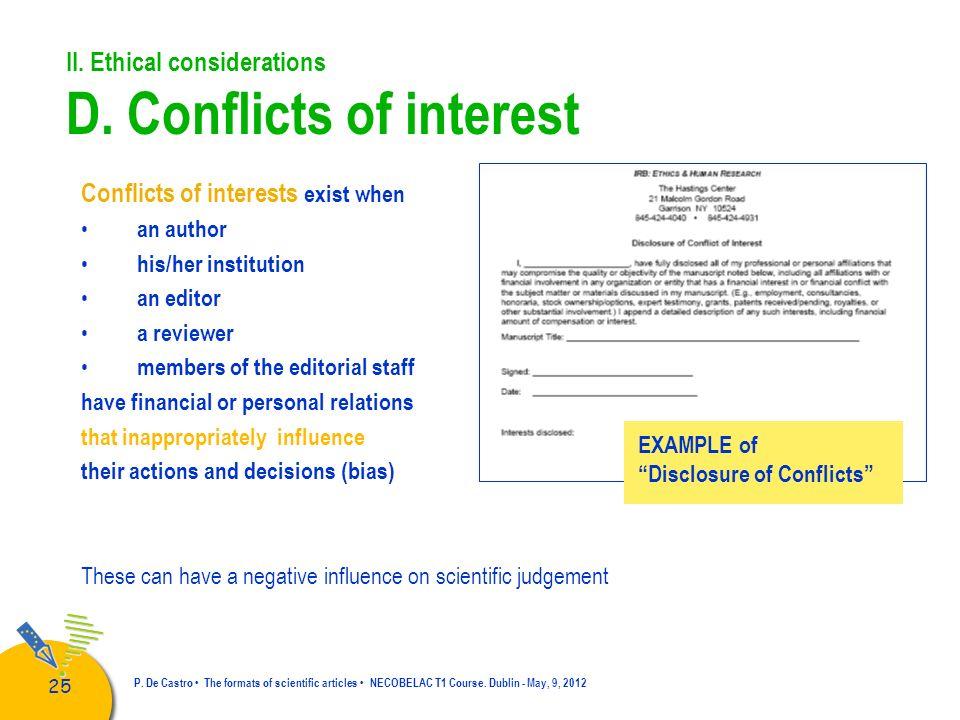 26 P.De Castro The formats of scientific articles NECOBELAC T1 Course.