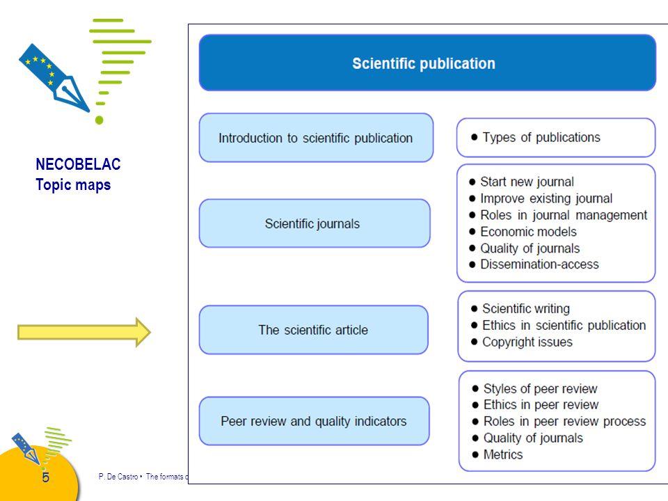 66 P.De Castro The formats of scientific articles NECOBELAC T1 Course.
