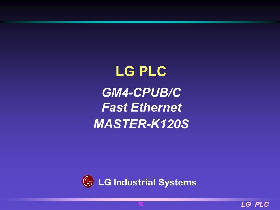 LG PLC 61 Applicable Equipments