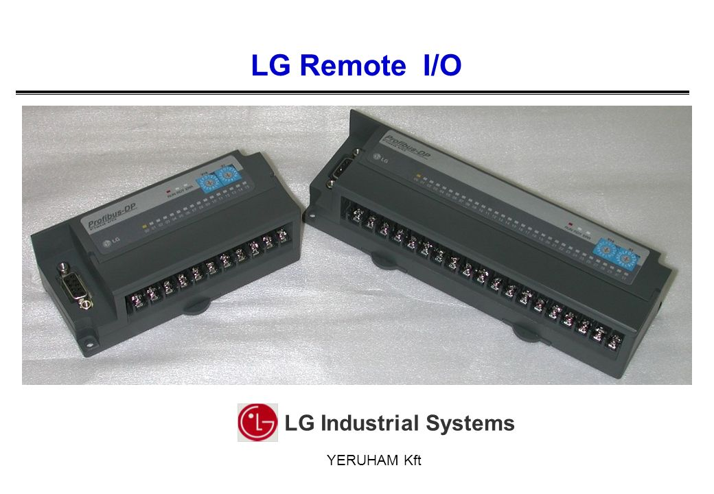 LG Industrial Systems Co., Ltd.Products Modules Baud RateCom.