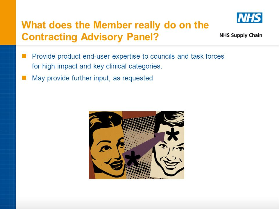 What does the Member really do on the Contracting Advisory Panel.