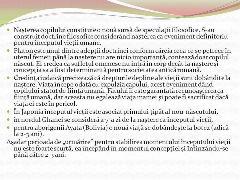 Valenţele utiliz ă rii embrionilor umani în cercetare embrionii umani j oa c ă un r ol important în tratarea sterilit ă ţii şi în perfecţionarea tehnicilor de implant fecundarea in vitro ofer ă posibilitatea depist ă rii unor anomalii genetice la embrioni înainte de implantarea lor în uter, aceeaşi tehnic ă permiţând şi identificarea sexului fiec ă rui embrion cu posibilitatea detect ă rii anumitor boli genetice legate de sex.
