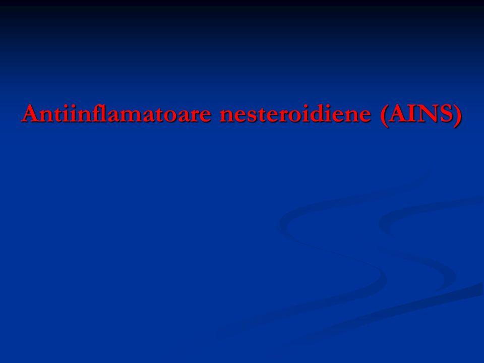 Antiinflamatoare nesteroidiene (AINS)