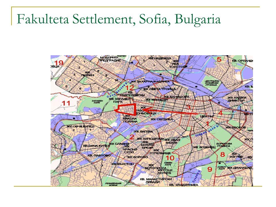 Fakulteta Settlement, Sofia, Bulgaria