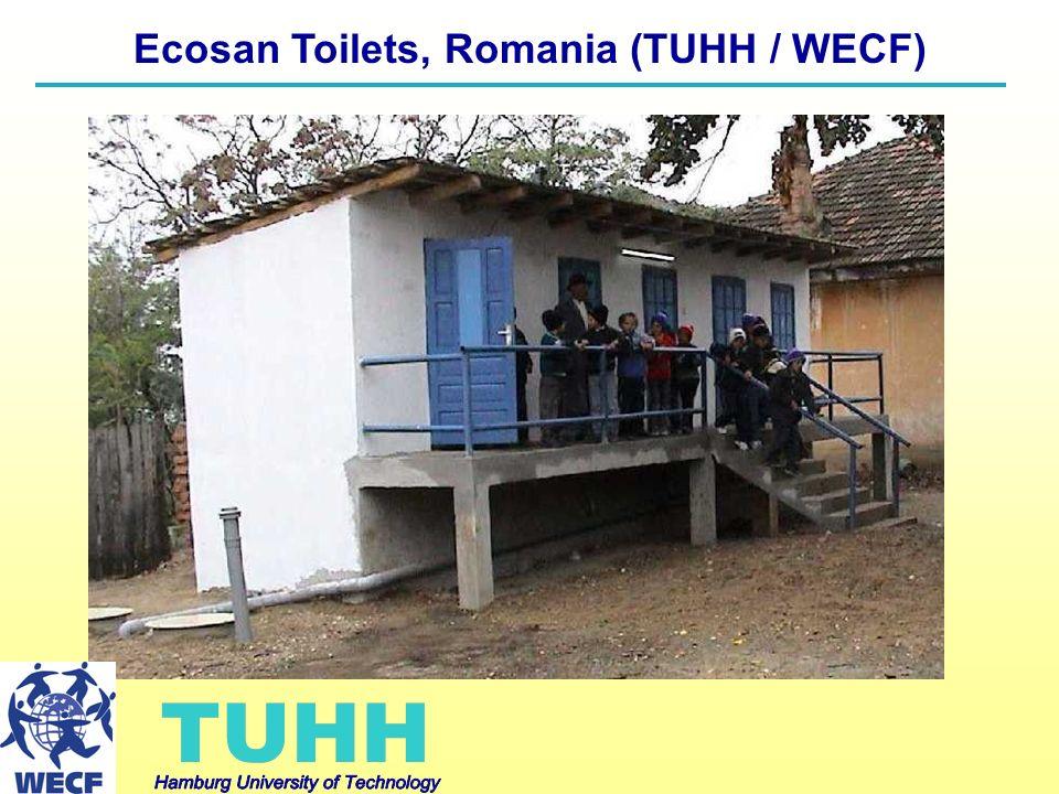 Ecosan Toilets, Romania (TUHH / WECF)