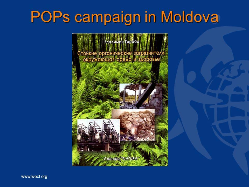 www.wecf.org POPs campaign in Moldova