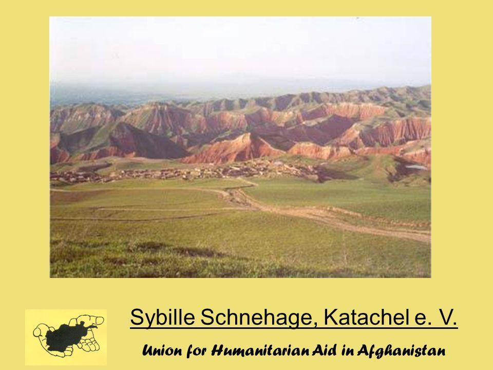 Sybille Schnehage, Katachel e. V. Union for Humanitarian Aid in Afghanistan