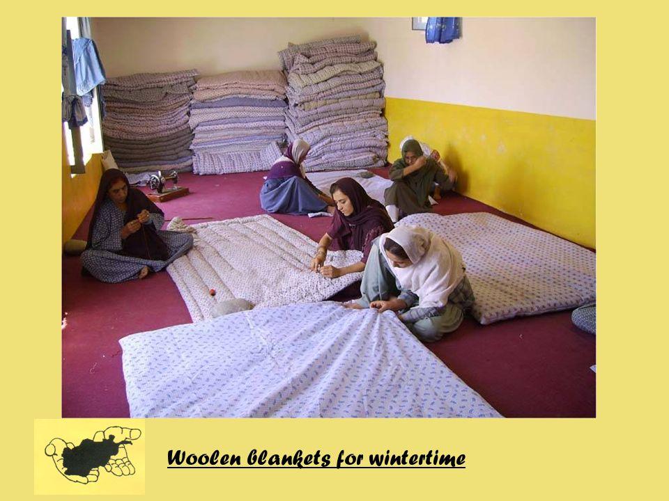 Woolen blankets for wintertime