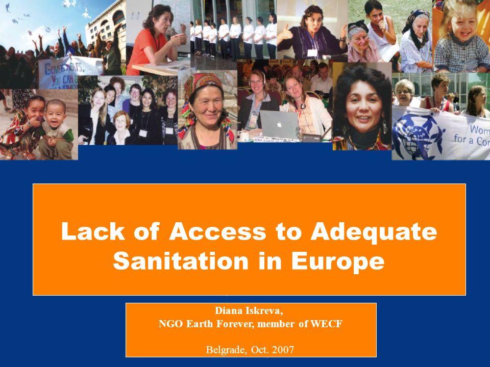 www.wecf.org Affordable and Hygienic School Sanitation