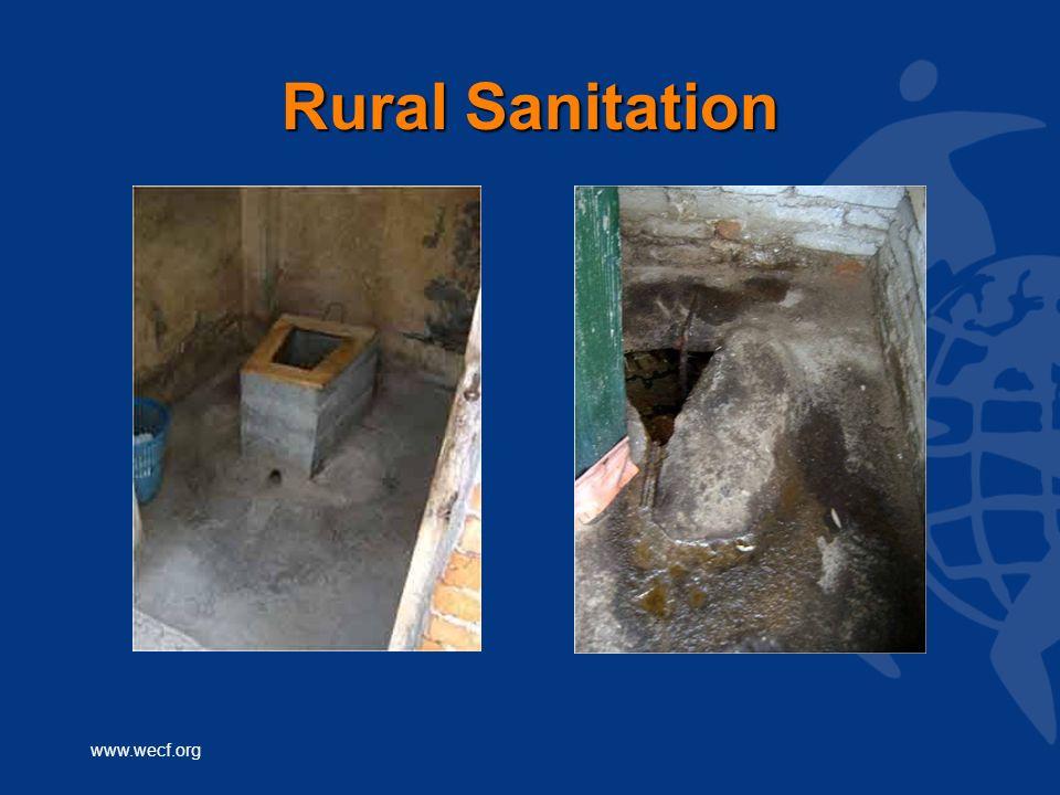 www.wecf.org Rural Sanitation