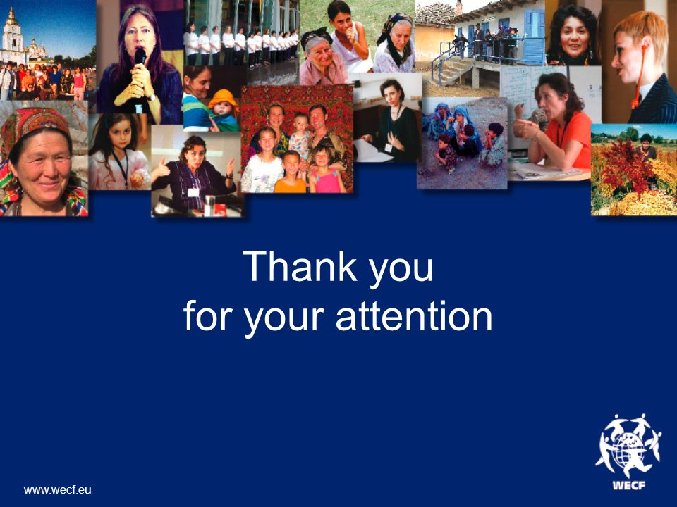 Thank you for your attention www.wecf.eu