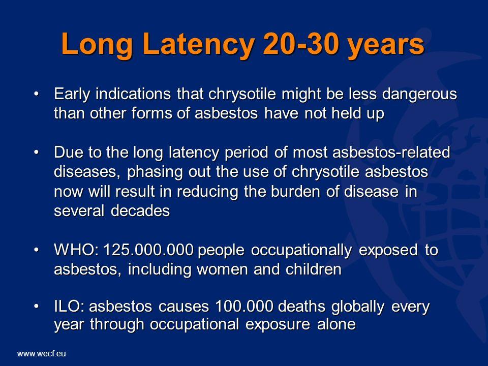 www.wecf.eu UK asbestos death among men and Russia?