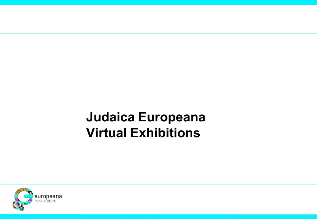 Judaica Europeana Virtual Exhibitions