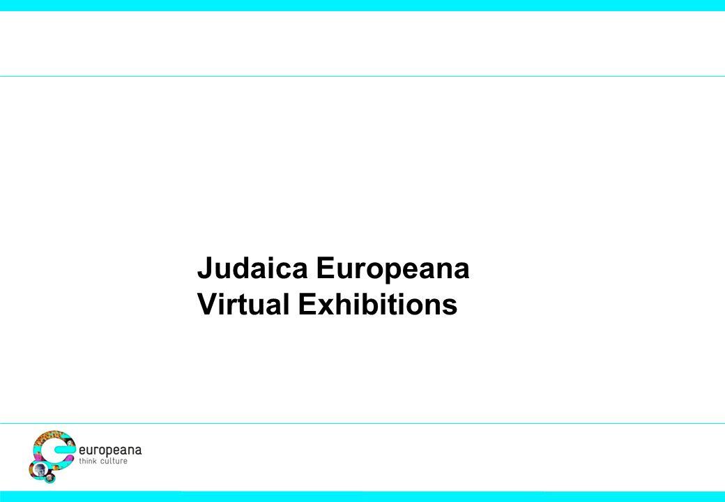Judaica Europeana Virtual Exhibitions