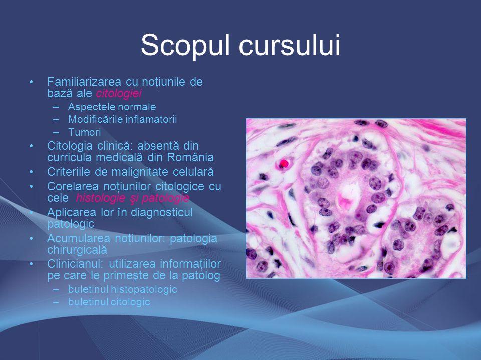 Patologia chirurgicală şi non- patologii Acurateţea rezultatului depinde atât de clinician cât şi de patolog Cunoaşterea de către patolog a datelor clinice, paraclinice şi procedurilor terapeutice Avizaţi asupra limitei specialităţii lor Examinarea microscopică este uneori subiectivă