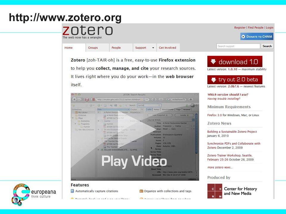 http://www.zotero.org