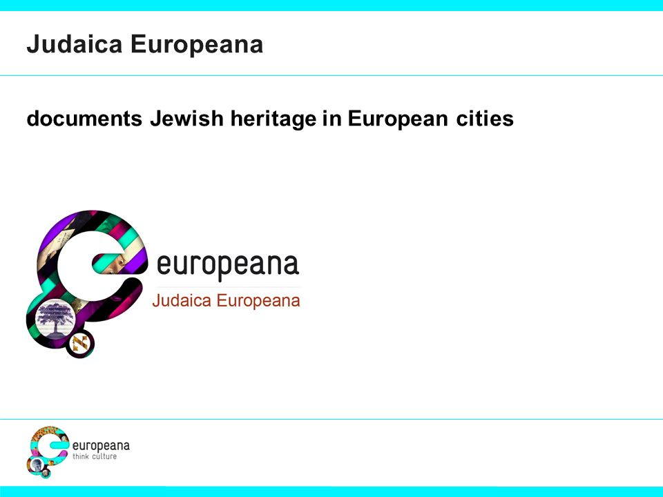 documents Jewish heritage in European cities Judaica Europeana