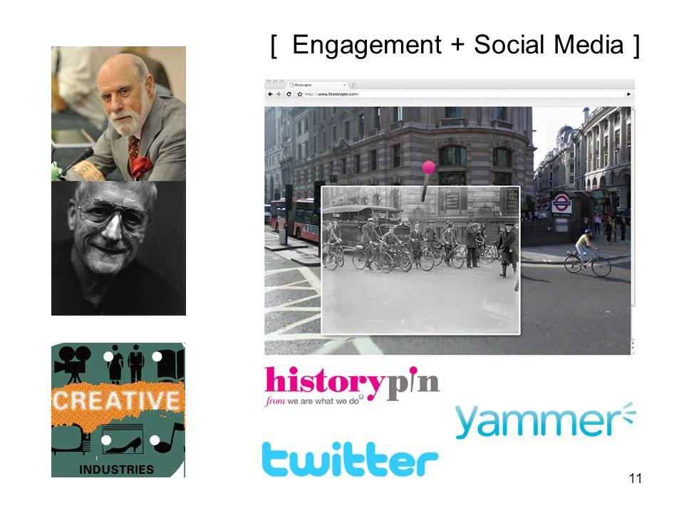 11 [ Engagement + Social Media ]