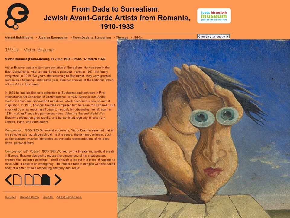 From Dada to Surrealism: Jewish Avant-Garde Artists from Romania, 1910-1938