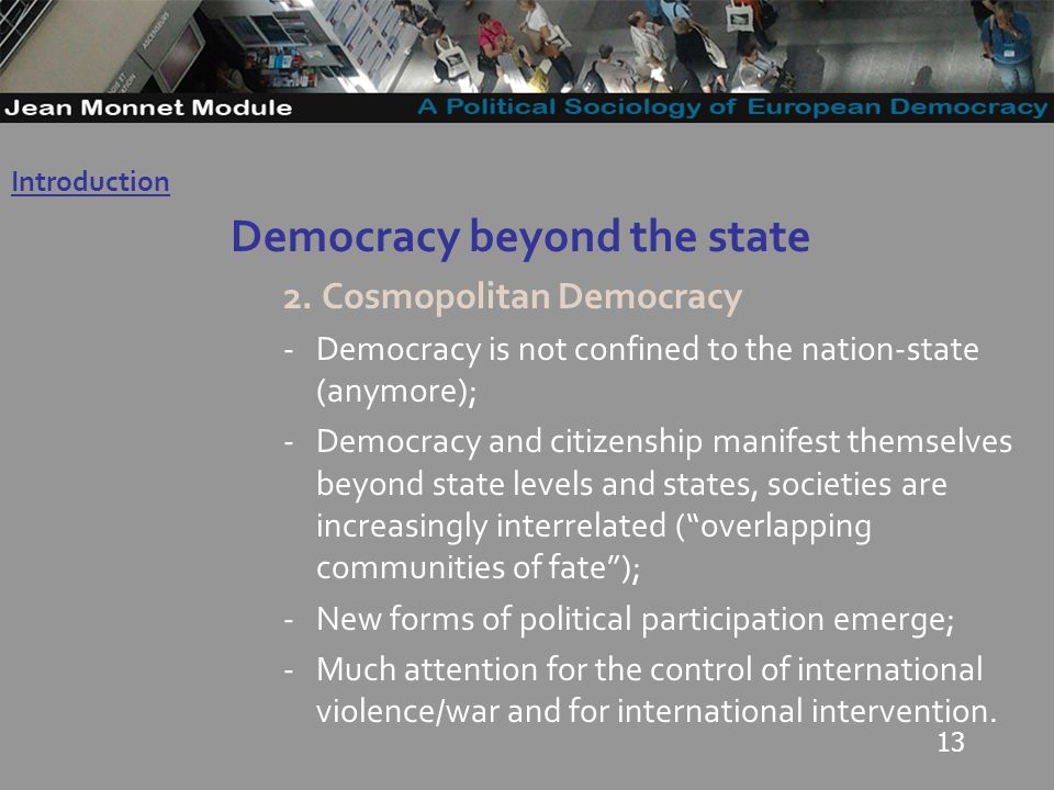 13 Democracy beyond the state 2.