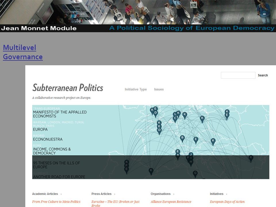 38 Governo Locale Multilevel Governance