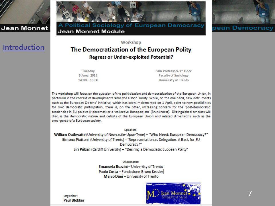 8 Multiple Democracies I: Stakeholder Democracy Stakeholder democracy