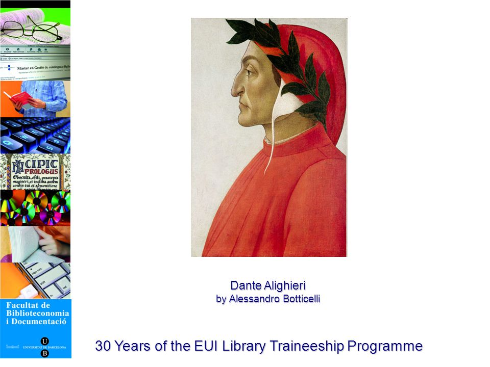 30 Years of the EUI Library Traineeship Programme Mòbils BiD (http://mobilsbid.blogspot.com/) http://mobilsbid.blogspot.com/