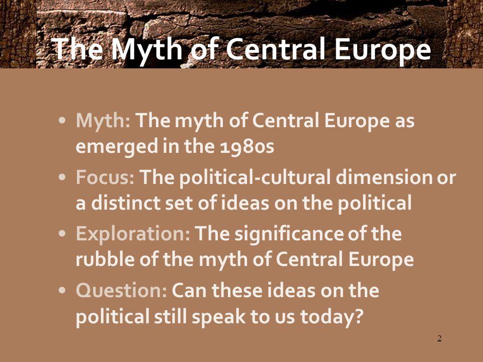 13 A Central European Political Culture.
