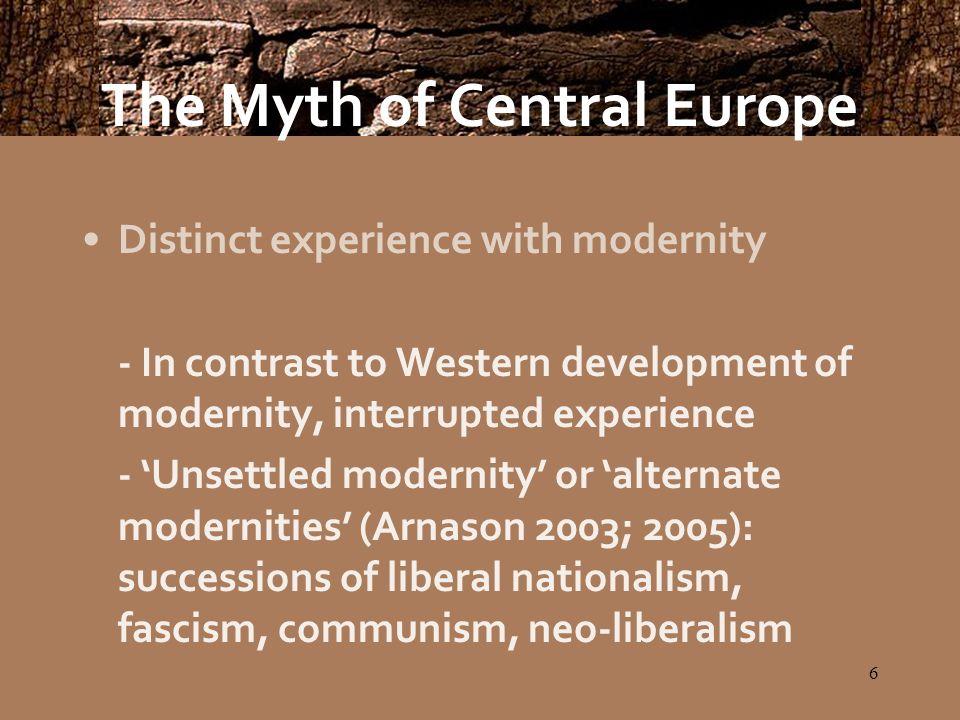7 A Central European Political Culture.