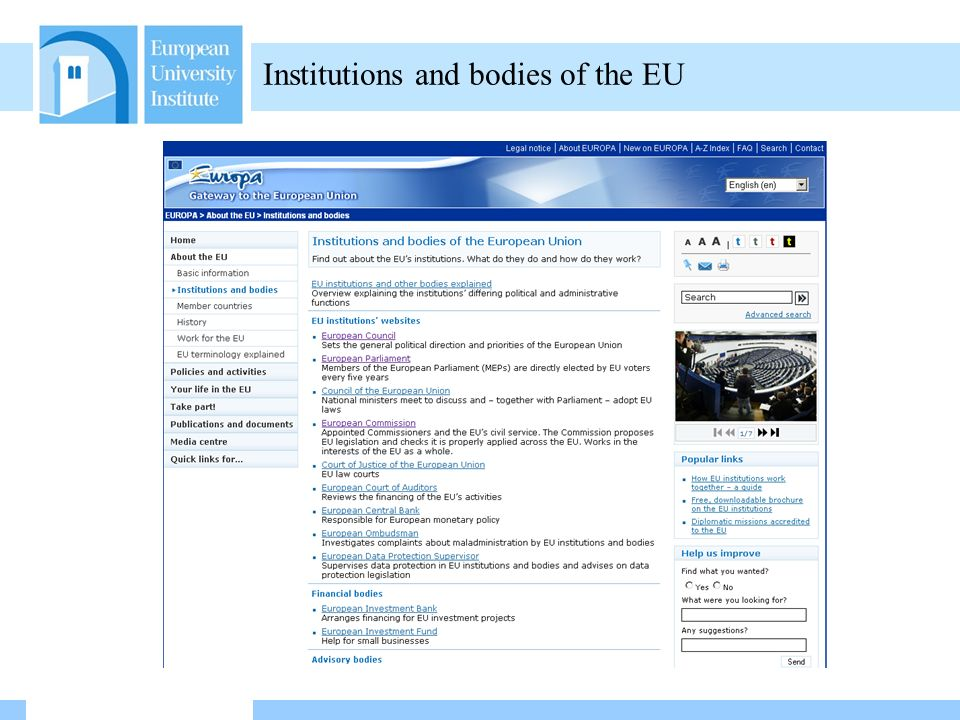 Friday 29 October 2010 16/02/2014 09:59 What happens afterwards Inteparliamentary EU information exchange: IPEX