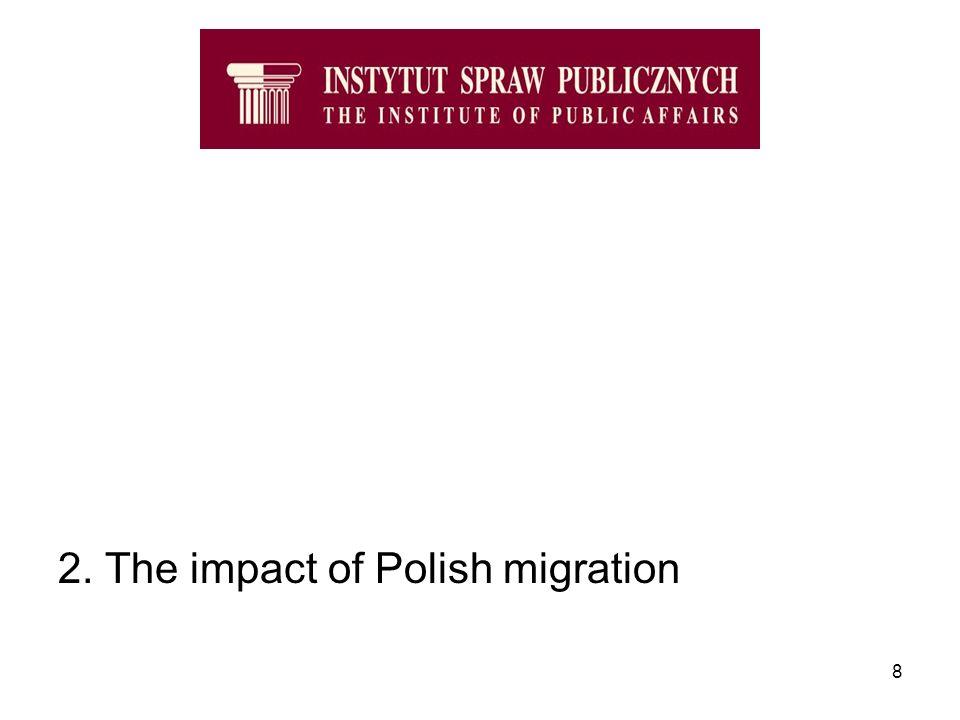 8 2. The impact of Polish migration