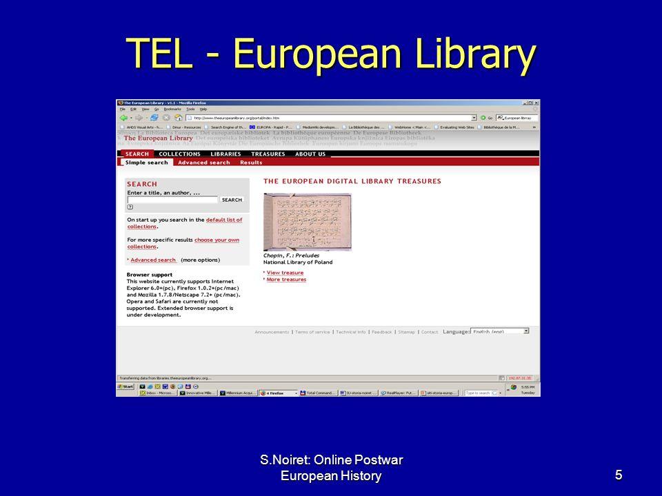 5 TEL - European Library