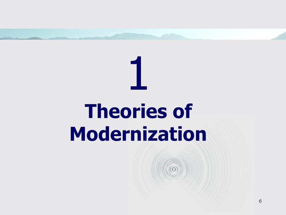 6 1 Theories of Modernization