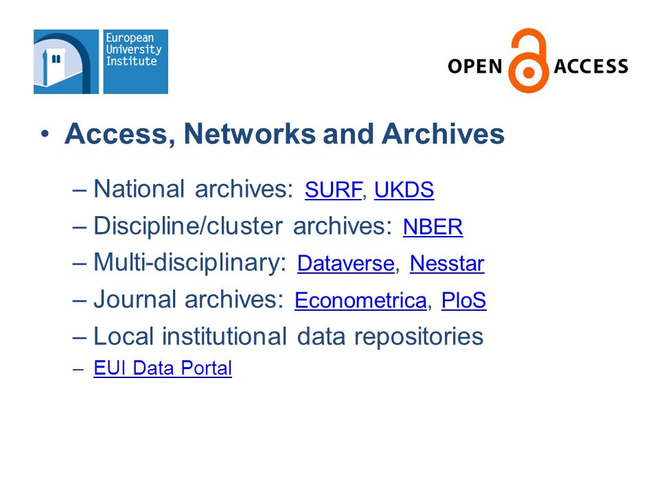 OD dissemination for publication-related datasets: Benefits Access Data methodology & instruction Cross-referencing with publications