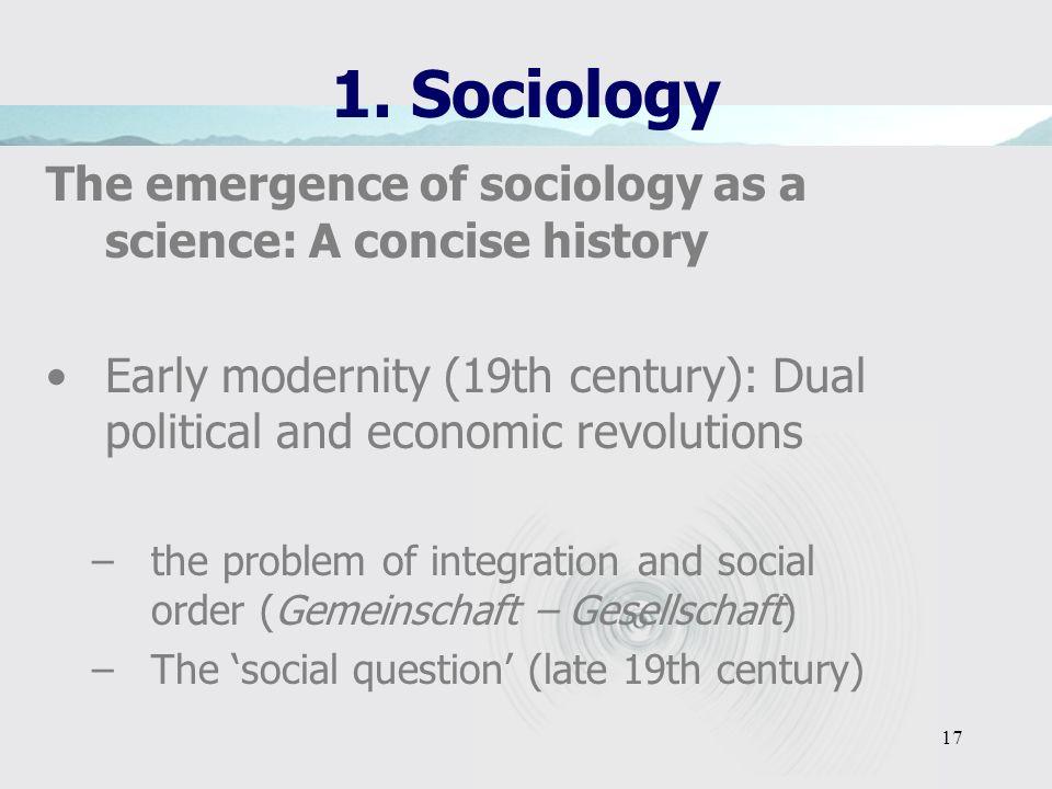 16 1. Sociology