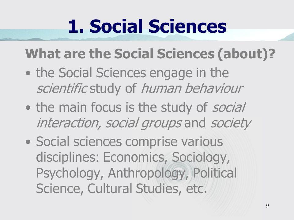 29 1.Sociology 4.