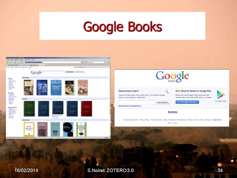 Google Books 16/02/2014S.Noiret: ZOTERO 3.034