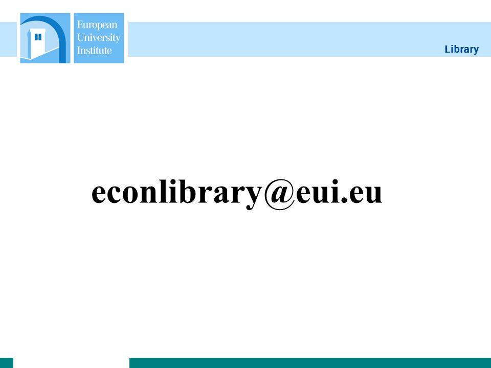 Library econlibrary@eui.eu