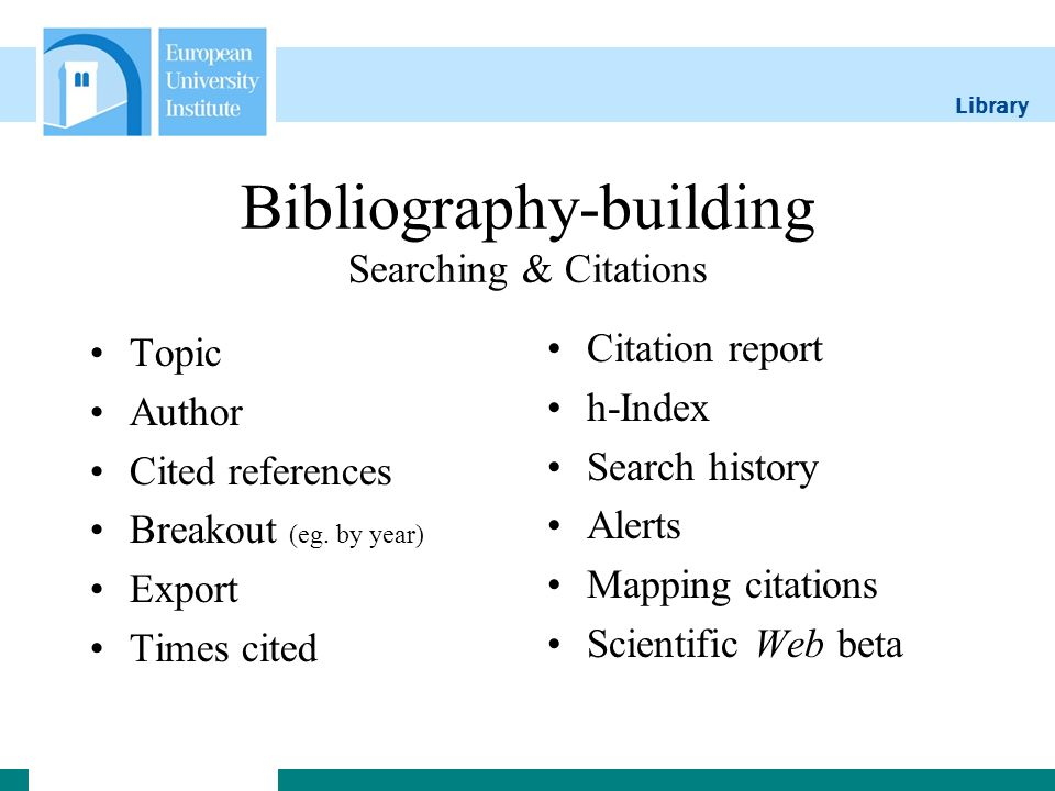 Library Phrase definition & authors Phrase Searching eg.