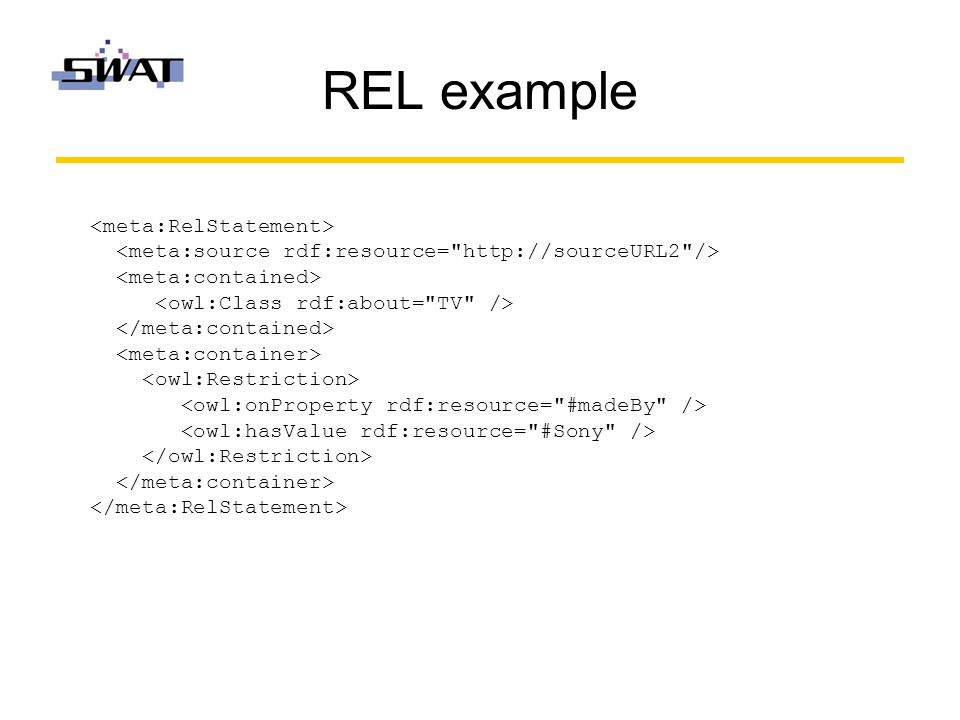 REL example