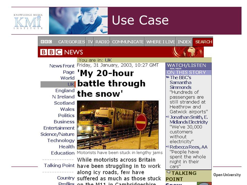Vlad Tanasescu – ISWC + ASWC 2007 Use Case
