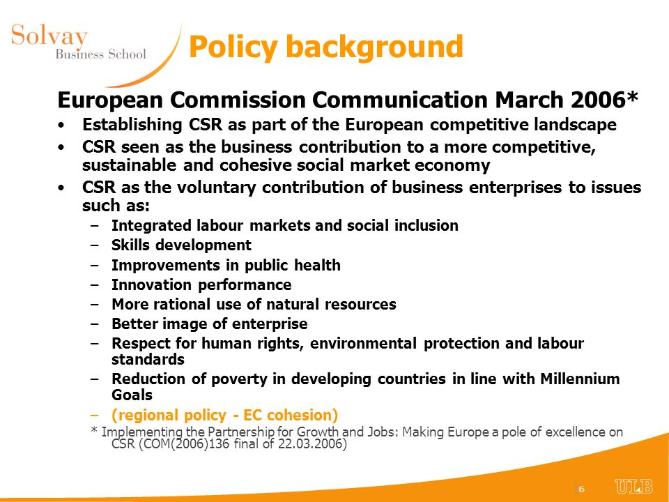 |7|7 Types of CSR issue from relocation Shareholders (competitiveness) Employees (job security, development, retraining & out-placement & retraining, inclusion) Customers (product provenance and tracking) Environmental interests and concerns (protection of global and local key resources and sinks) Neighbours (local value added and retained, minimum nuisance and protection of environmental assets, maintenance and improvement of social cohesion) Governments (inward investment, economic multipliers, cultural and environmental asset protection, development of local know-how) NGOs (labour and human rights, environment)
